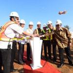 Gub Jabar Dalam Acara Groundbreaking Flyover Kota Sukabumi Untuk Tingkatkan Perekonomian Masyarakat
