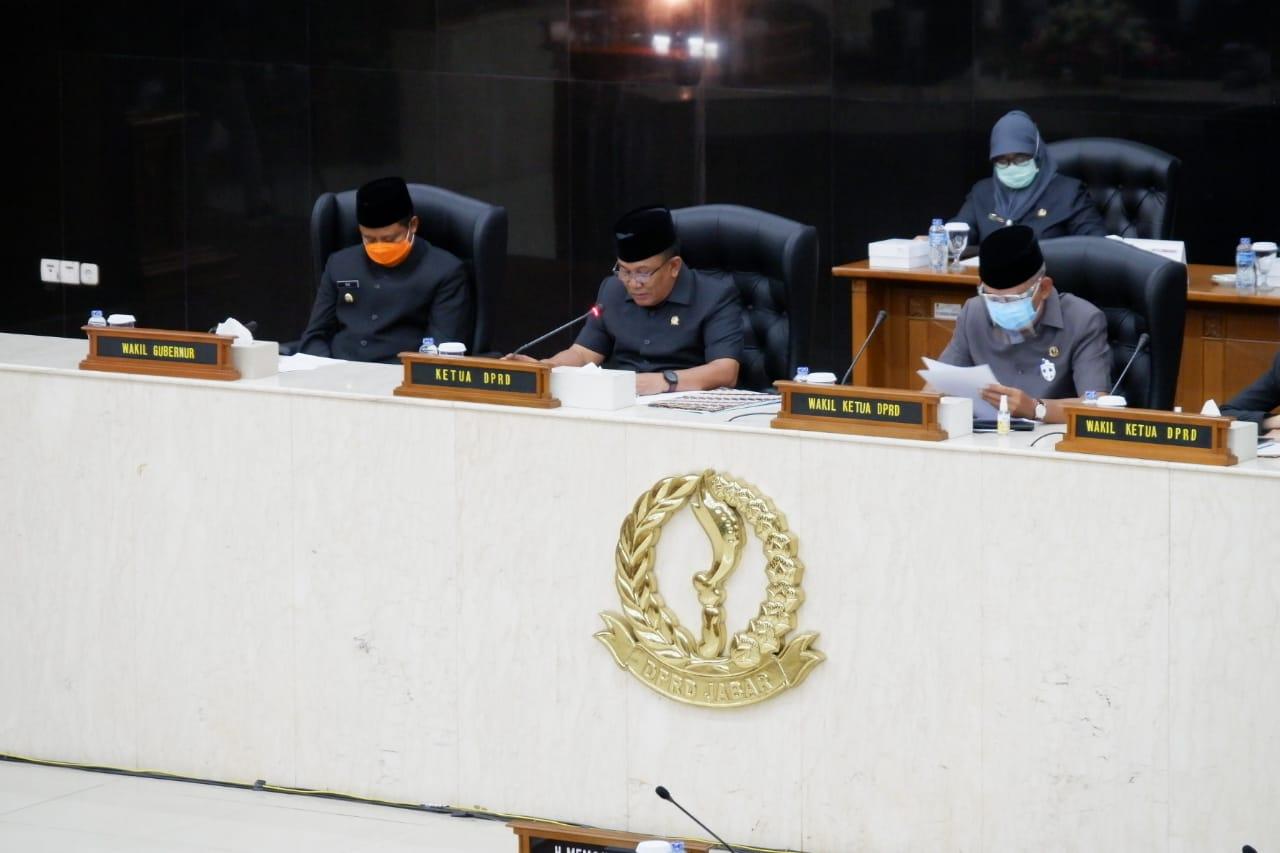 DPRD Jabar Minta Gubernur Fokus Kepada Pemulihan Ekonomi