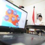 Ridwan Kamil Melapor ke Wapres : BOR Jabar Turun ke Angka 75 Persen